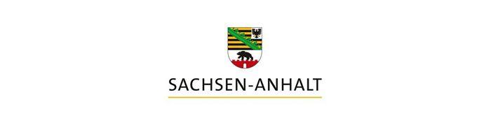 Logo des Landes Sachsen-Anhalt.
