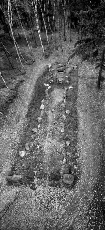 Das Ganggrab von Lüdelsen, Fundplatz 6, im Altmarkkreis Salzwedel. © Landesamt für Denkmalpflege und Archäologie Sachsen-Anhalt, Juraj Lipták.