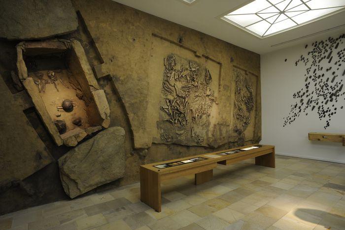 Das Gräberensemble der Kugelamphorenkultur von Westerhausen (ca. 3.100 bis 2.800 v. Chr.). © Landesamt für Denkmalpflege und Archäologie Sachsen-Anhalt, Juraj Lipták.