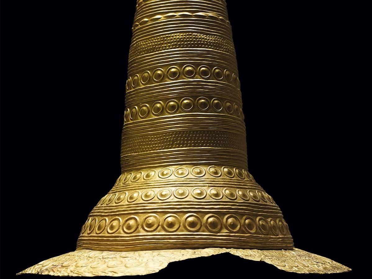 Der Goldhut von Schifferstadt. © Historisches Museum der Pfalz Speyer, Carolin Breckle.