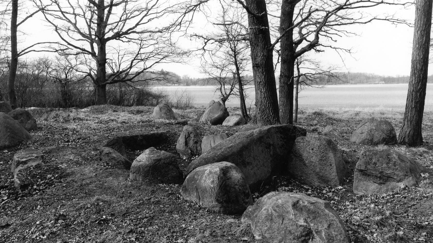 The large dolmen from Bretsch, site 3, in the district of Stendal. © State Office for Heritage Management and Archaeology Saxony-Anhalt, Juraj Lipták.