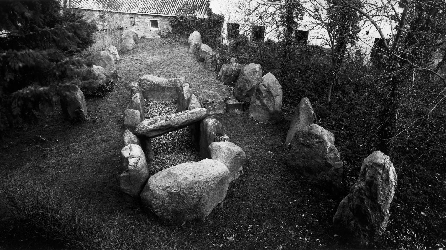The large dolmens from Winterfeld, site 1, in the Altmark district of Salzwedel. © State Office for Heritage Management and Archaeology Saxony-Anhalt, Juraj Lipták.