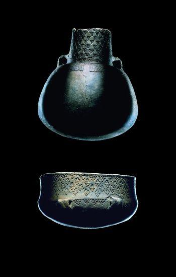Die Keramikform ›Kugelamphore‹ ist namengebend für diese archäologische Kultur. © Landesamt für Denkmalpflege und Archäologie Sachsen-Anhalt, Juraj Lipták.